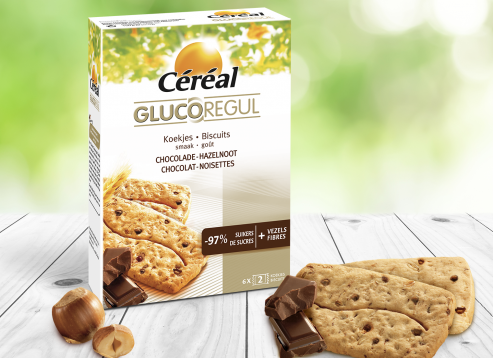 Biscuits Chocolat-Noisettes GlucoRegul