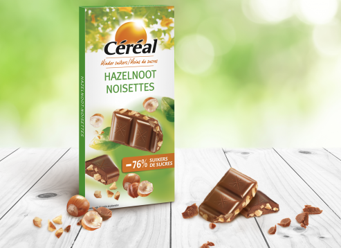 Chocolade tablet Hazelnoot