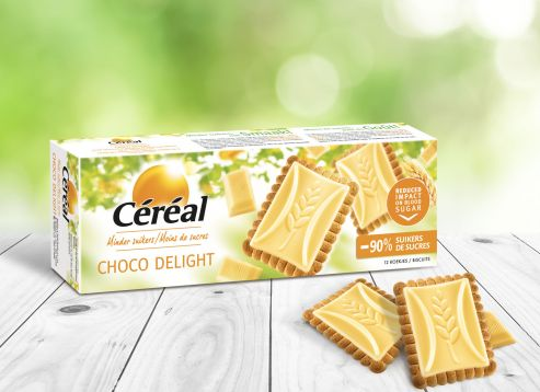 Biscuits Choco Delight chocolat blanc
