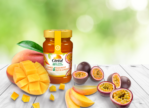 Confiture Mangue & Fruit de la Passion